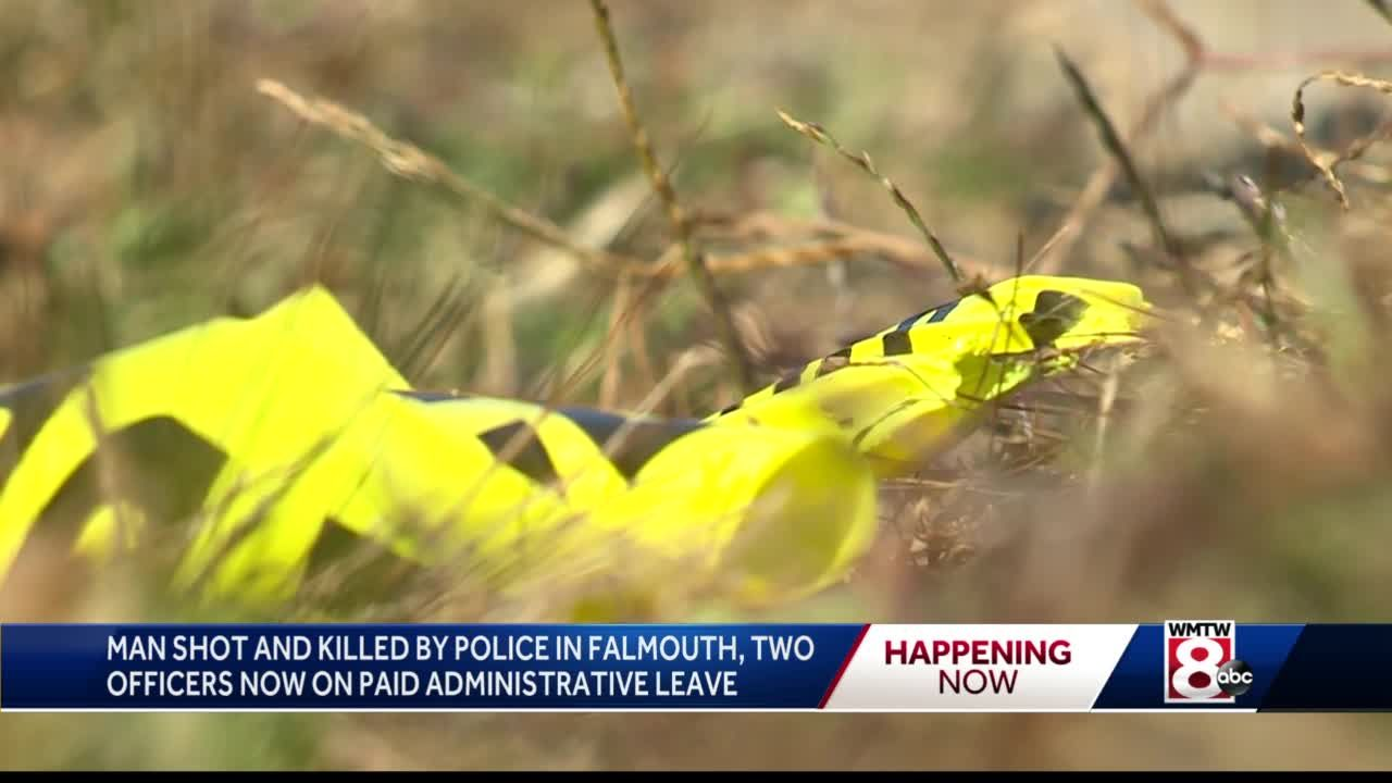 Police identify man shot, killed by officers in Falmouth
