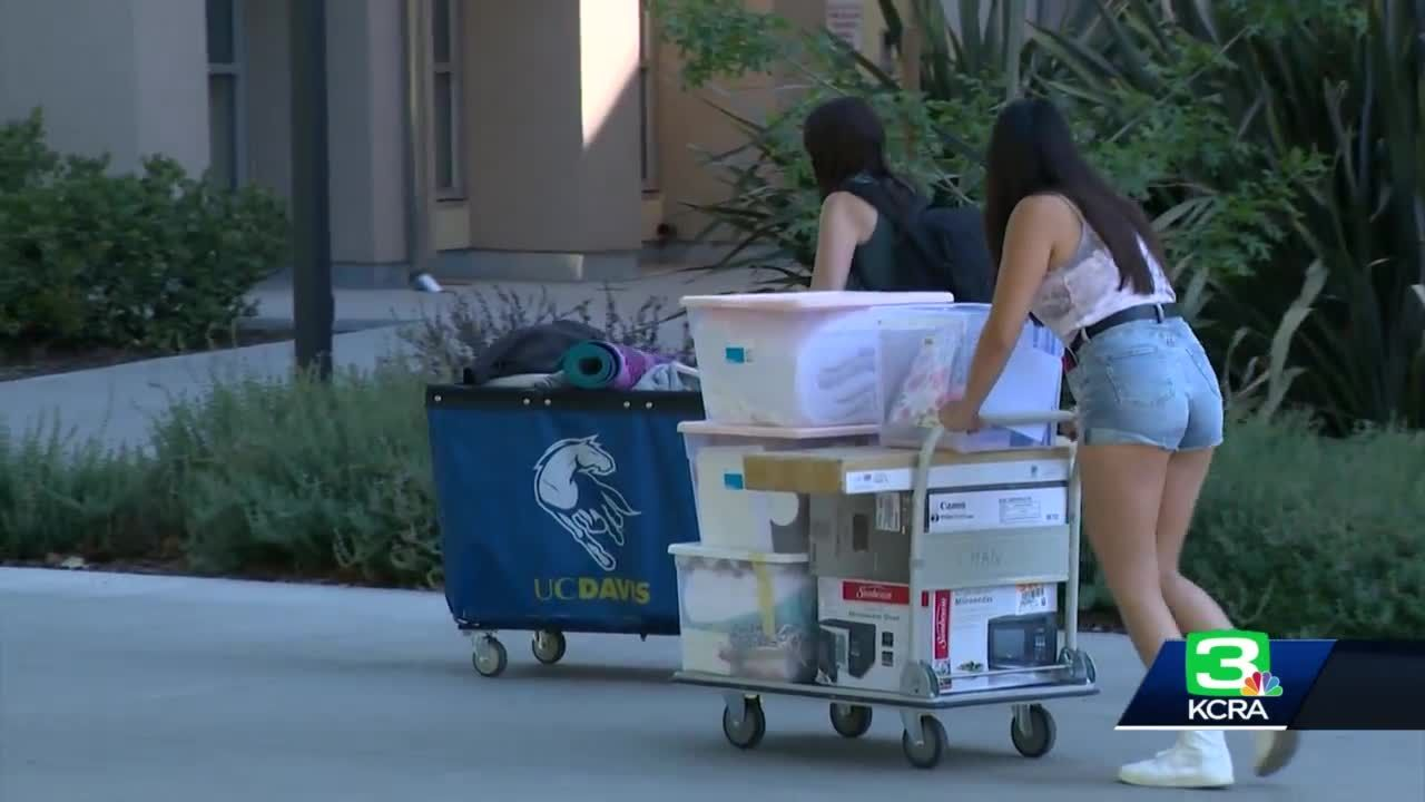 No roommates allowed as UC Davis students move into dorms