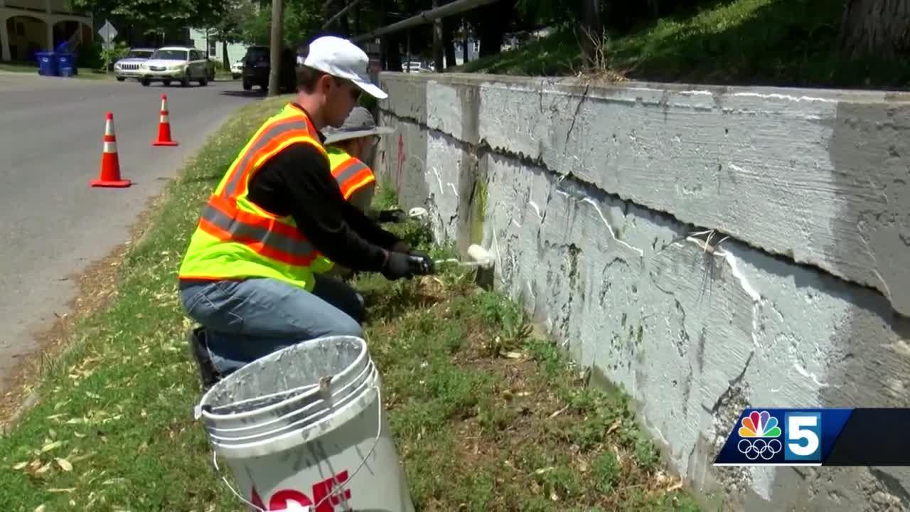 New graffiti clean-up