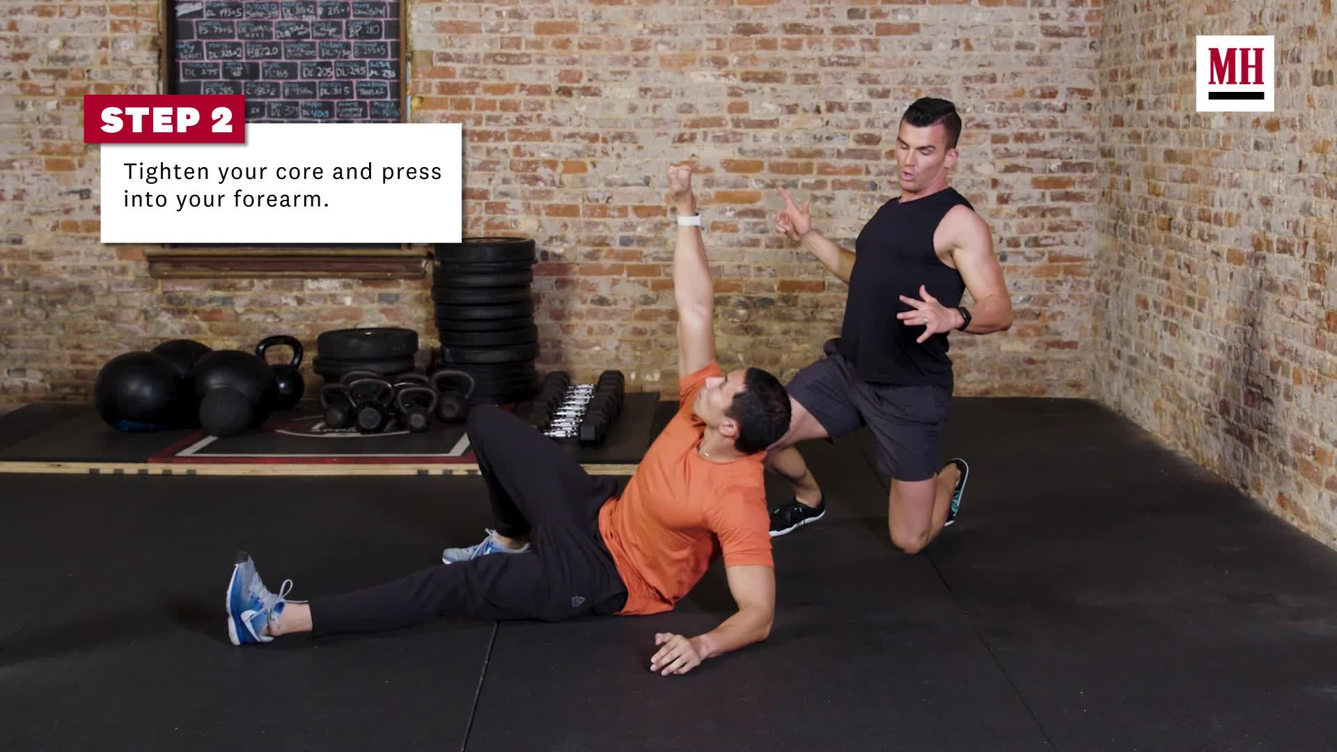 Build Total Body Strength With the Turkish Getup