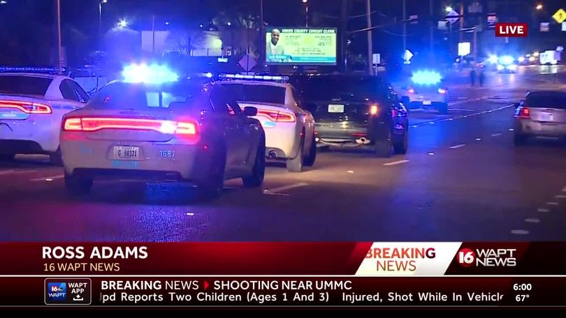Video: Shooting outside UMMC leads to lockdown at hospital