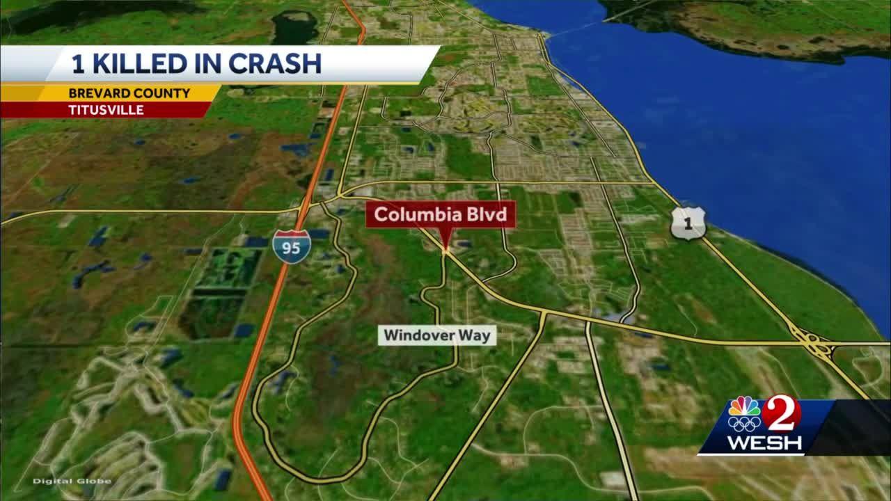 1 killed in Brevard County crash