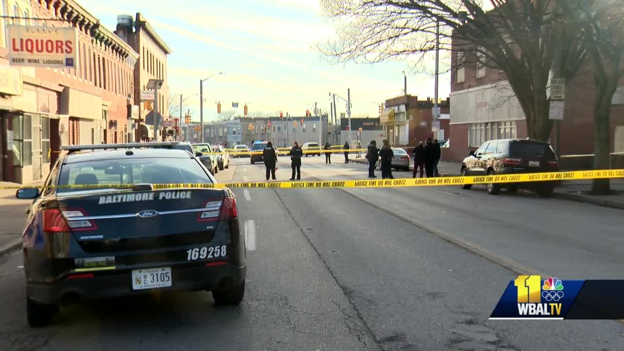Child shot in crossfire of shootout in west Baltimore