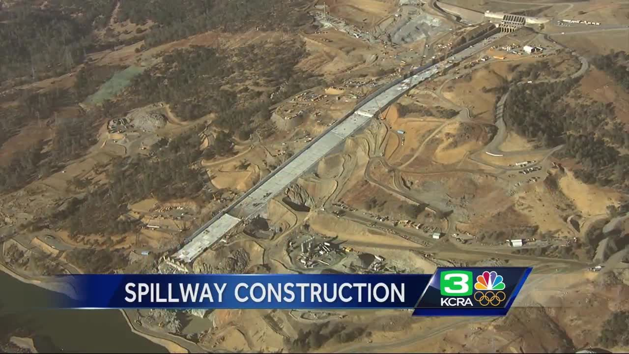 Deadline days away: Here's where Oroville Dam spillway repairs stand now