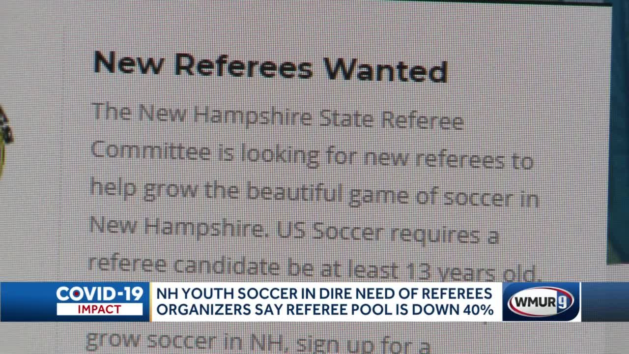 NH youth soccer in dire need of referees