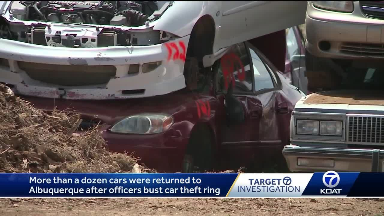 Albuquerque Salvage Yards >> Several Cars Returned To Abq After Officers Bust Car Theft Ring