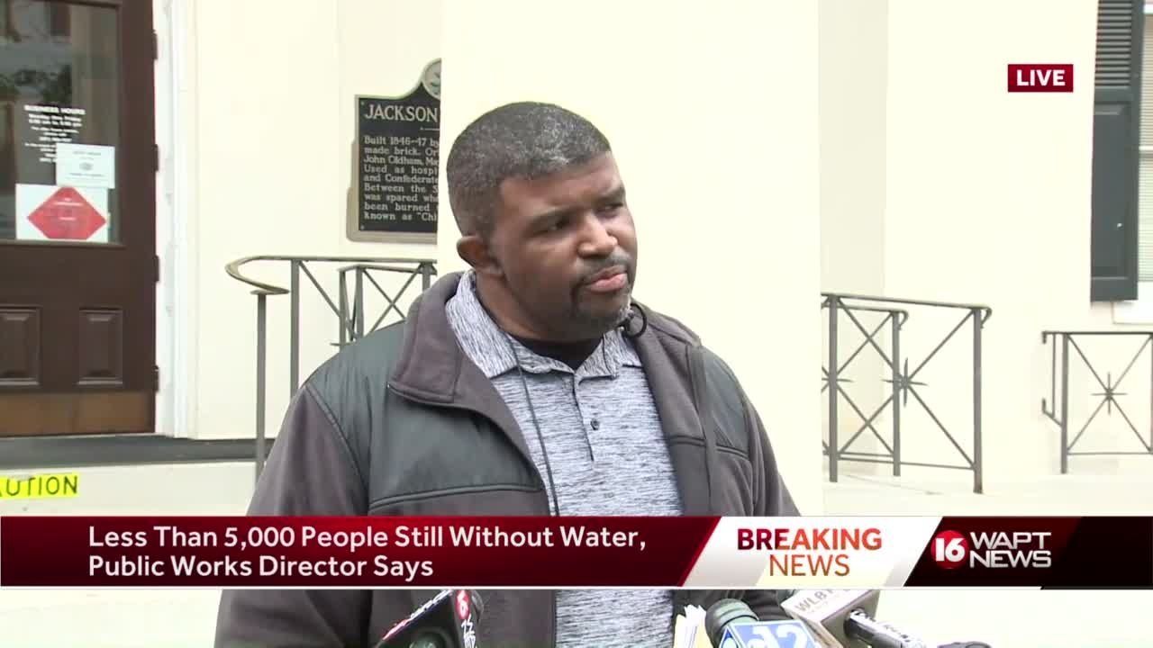 Public works director feeling positive about city water restoration