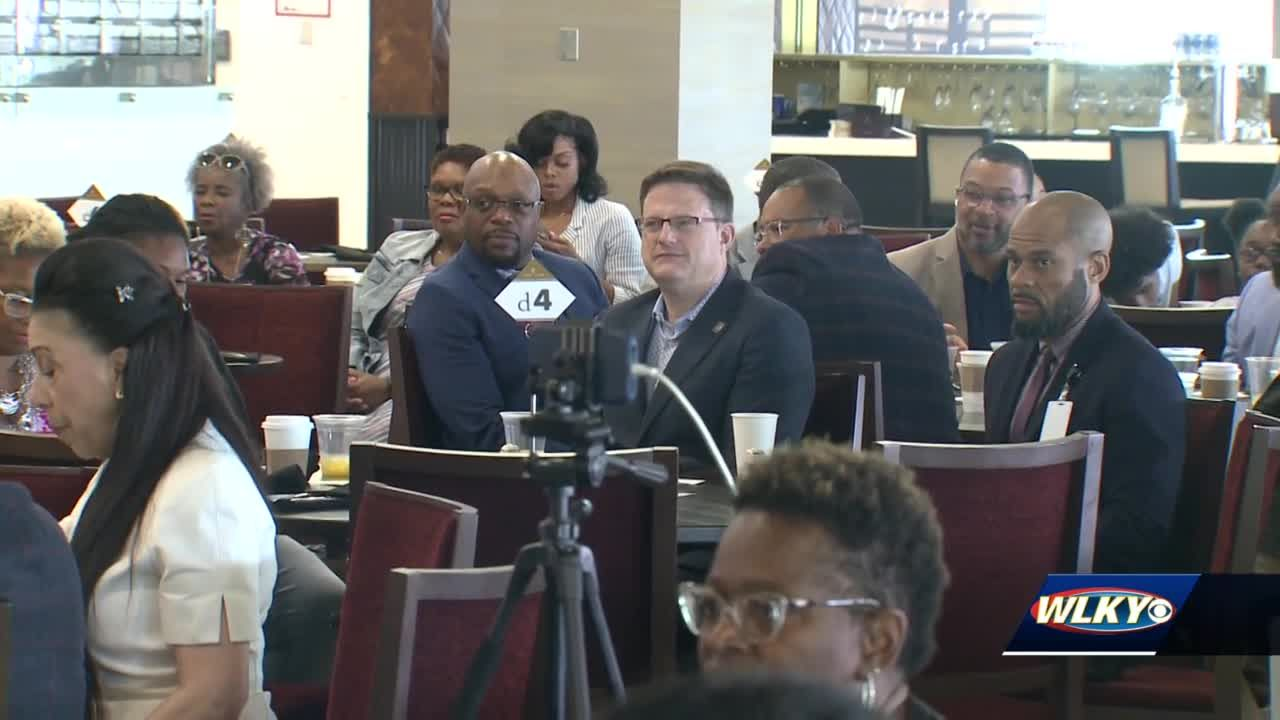 A diversity brunch held at Churchill Downs focuses on diversity issues in Louisville