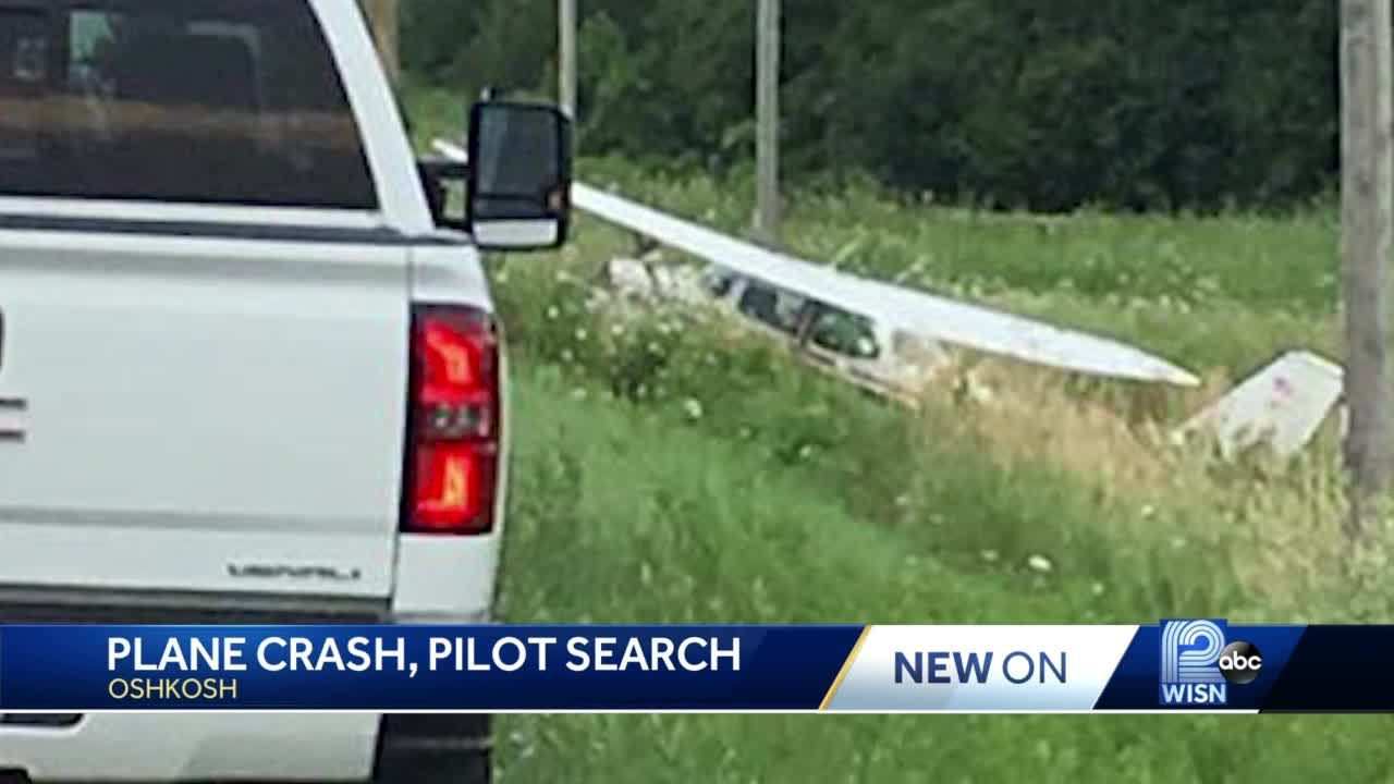 Plane crashes southwest of Oshkosh