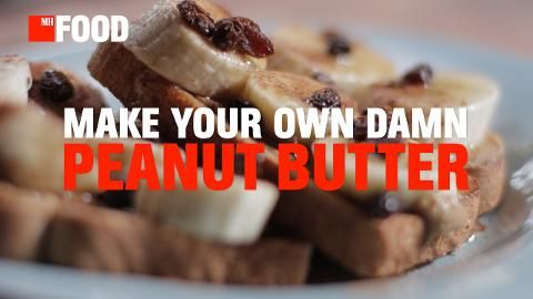 How to Make Your Own Peanut Butter