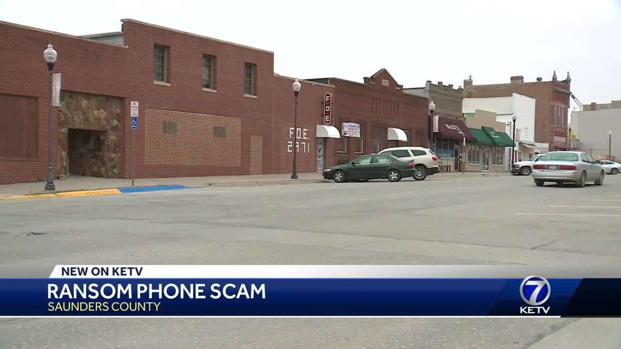 Ransom phone scam in Saunders County