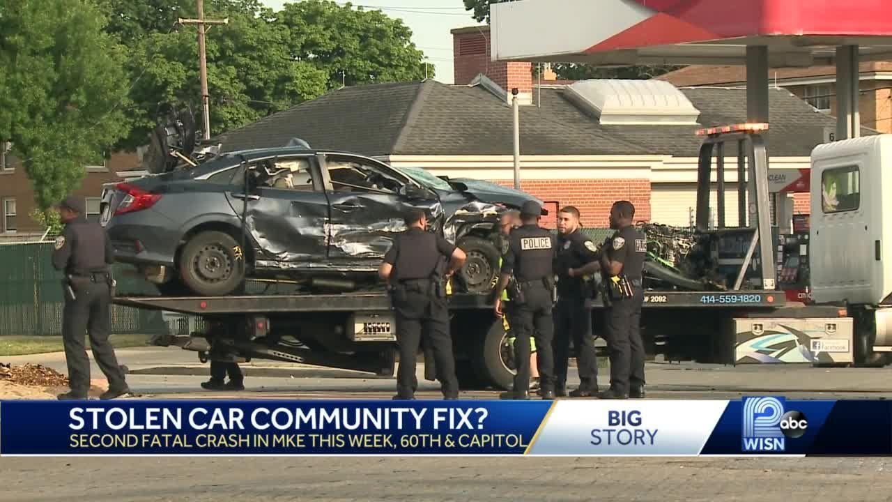 Milwaukee's stolen car problem 'out of control' community activist says