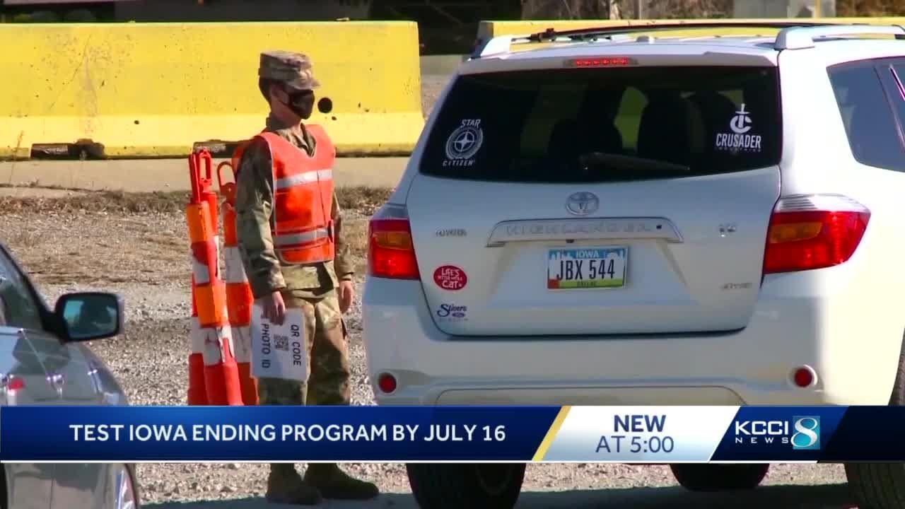 TestIowa to close operations by July