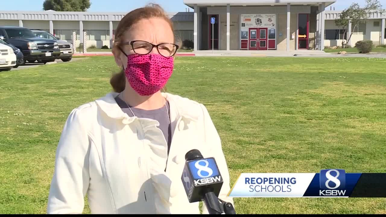 Coronavirus test positivity rate prevents Monterey County schools from reopening