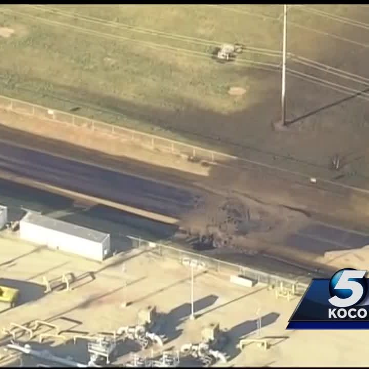 Pipeline remains closed following oil spill in Oklahoma
