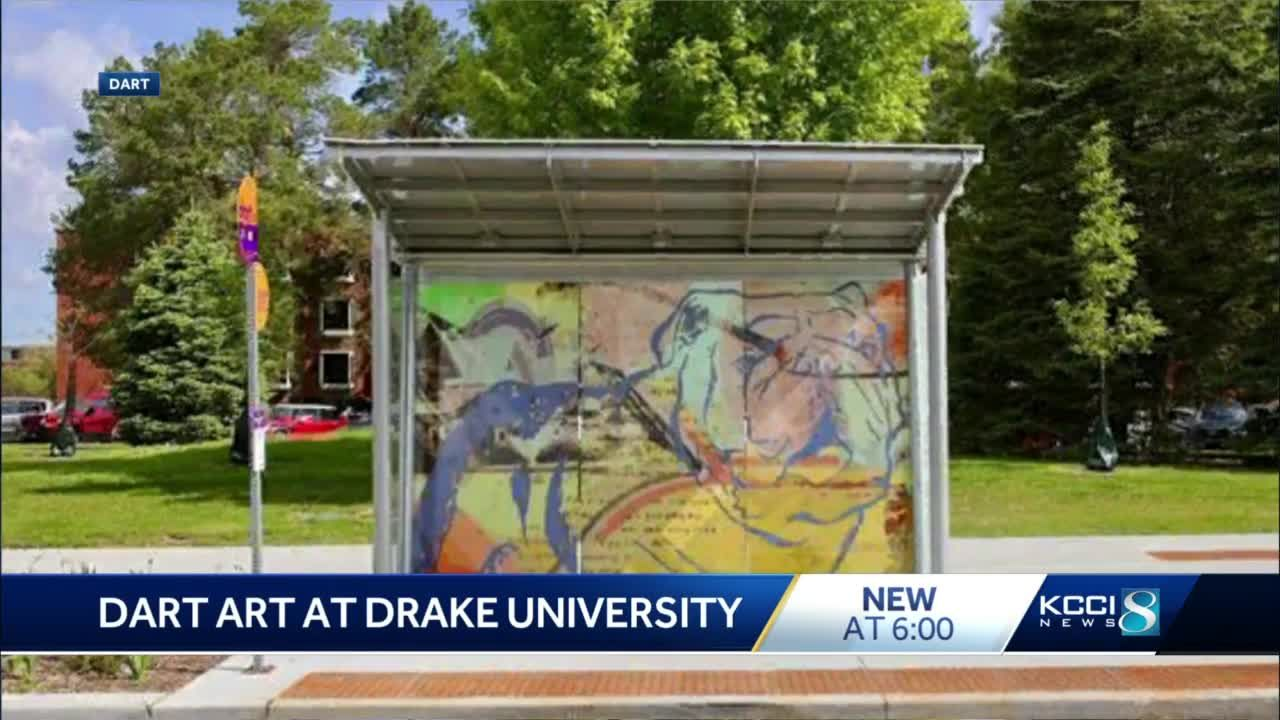 DART unveils new artwork on bus shelters