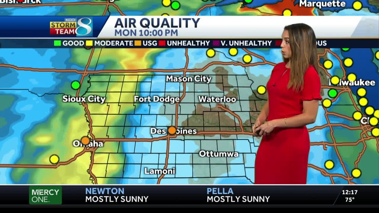 Pleasant afternoon ahead as air quality improves