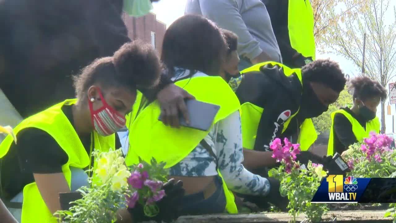 Memory garden honors victims of gun violence