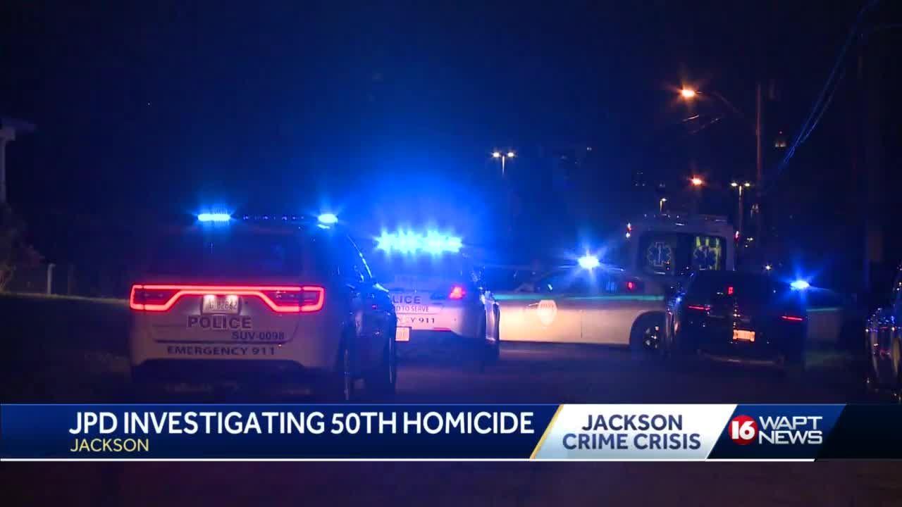 JPD investigates 50th homicide