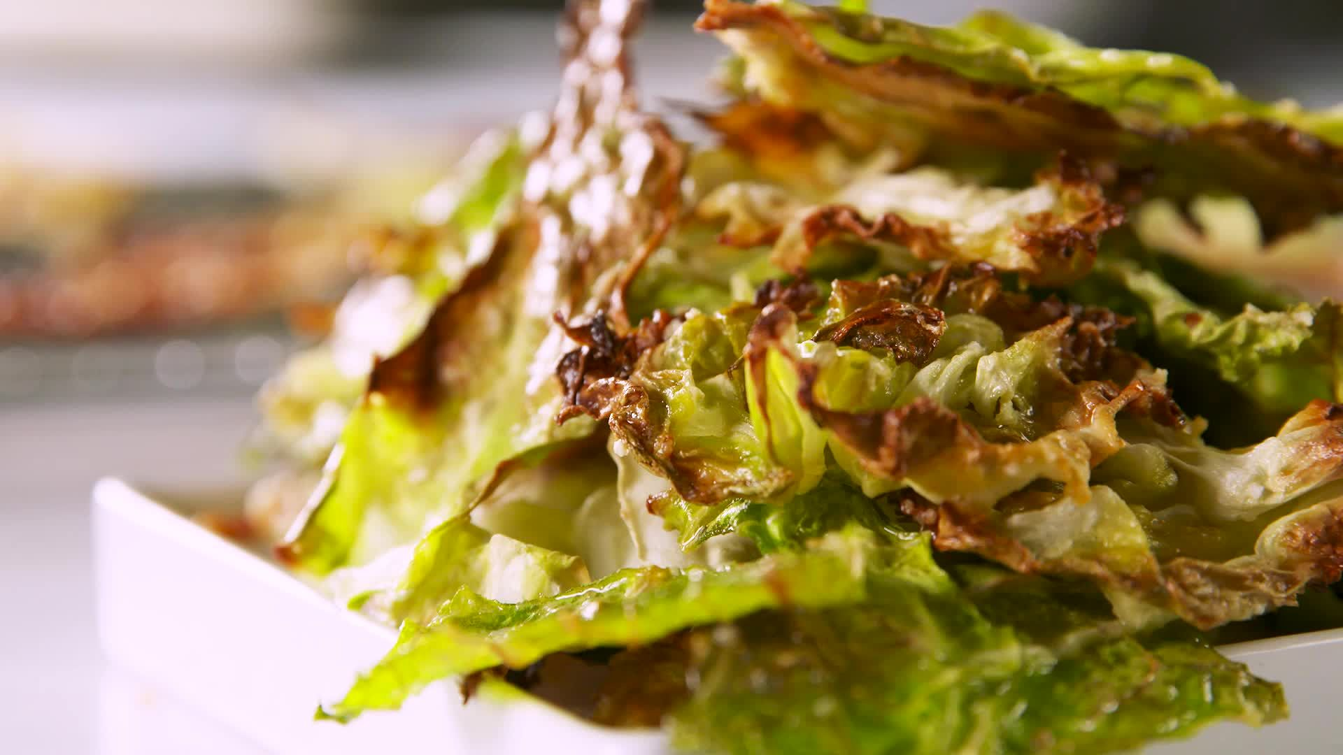 How To Make Super Crunchy Cabbage Chips