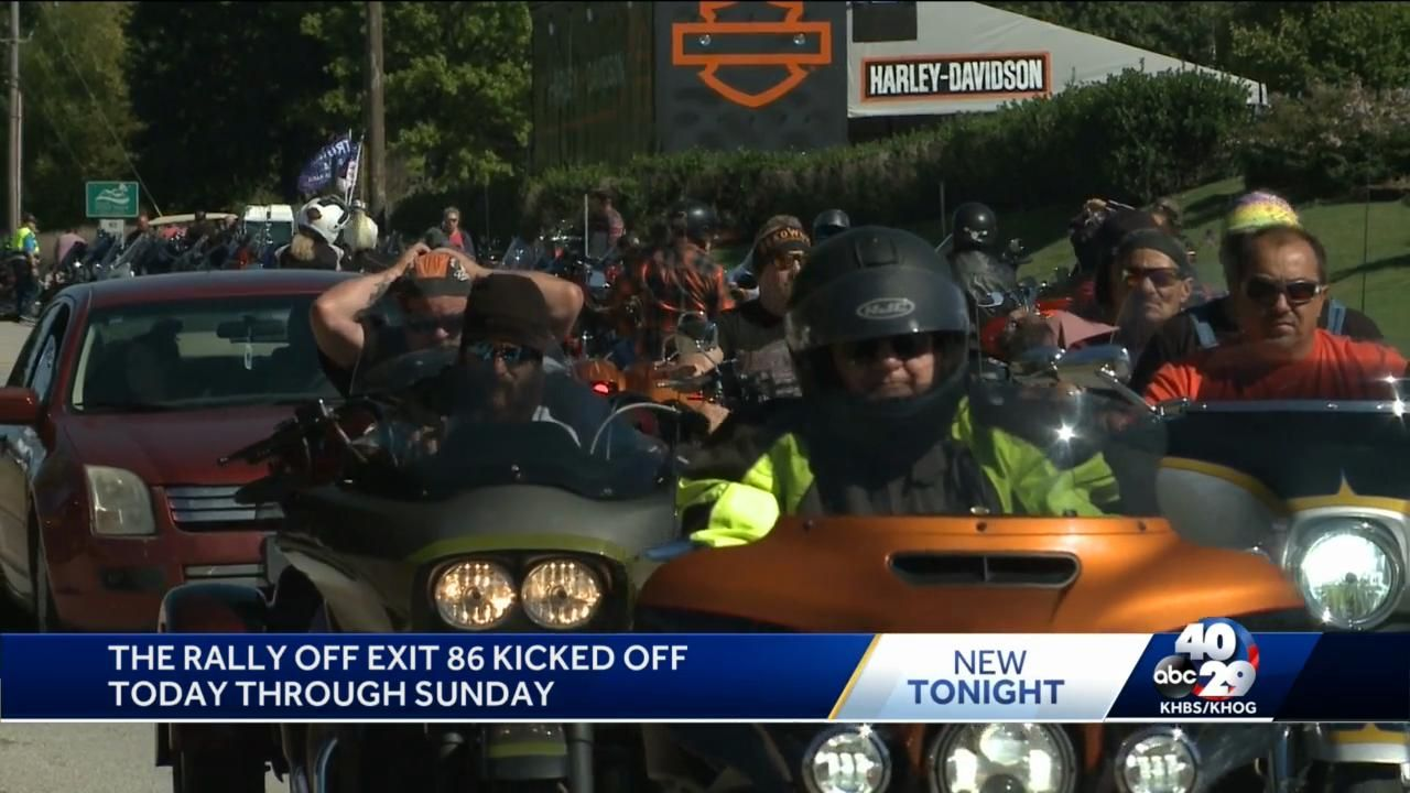 Motorcycle rally held in Bentonville despite Bikes, Blues & BBQ cancellation