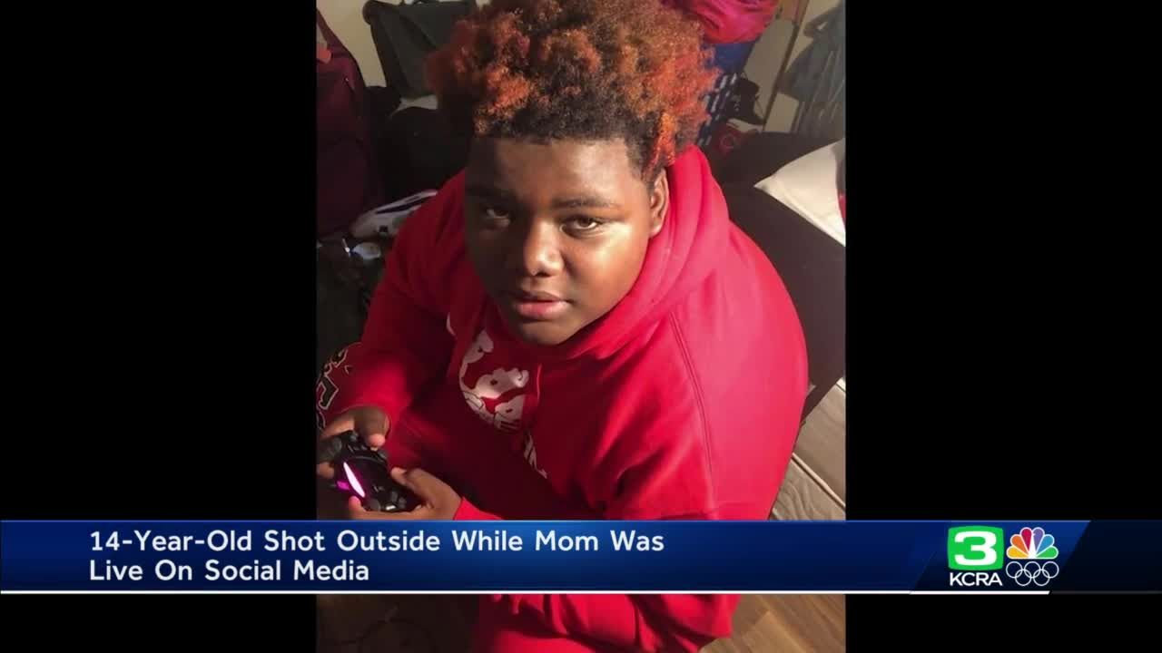 Stockton mother speaks after son was shot outside home