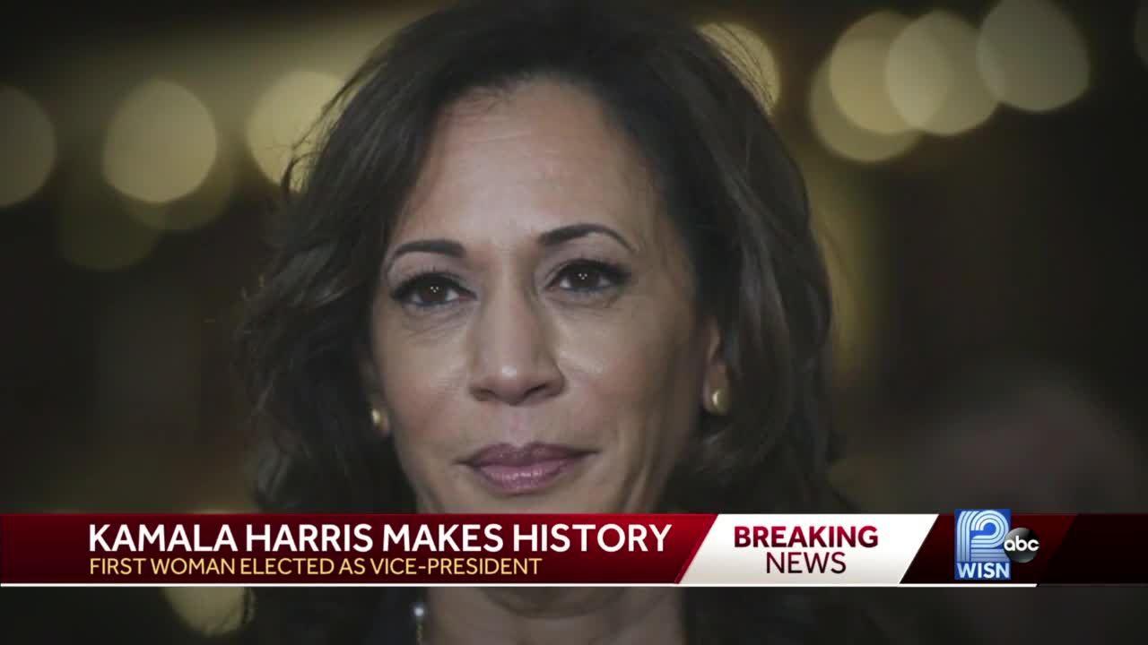 Vice President-elect Kamala Harris makes history