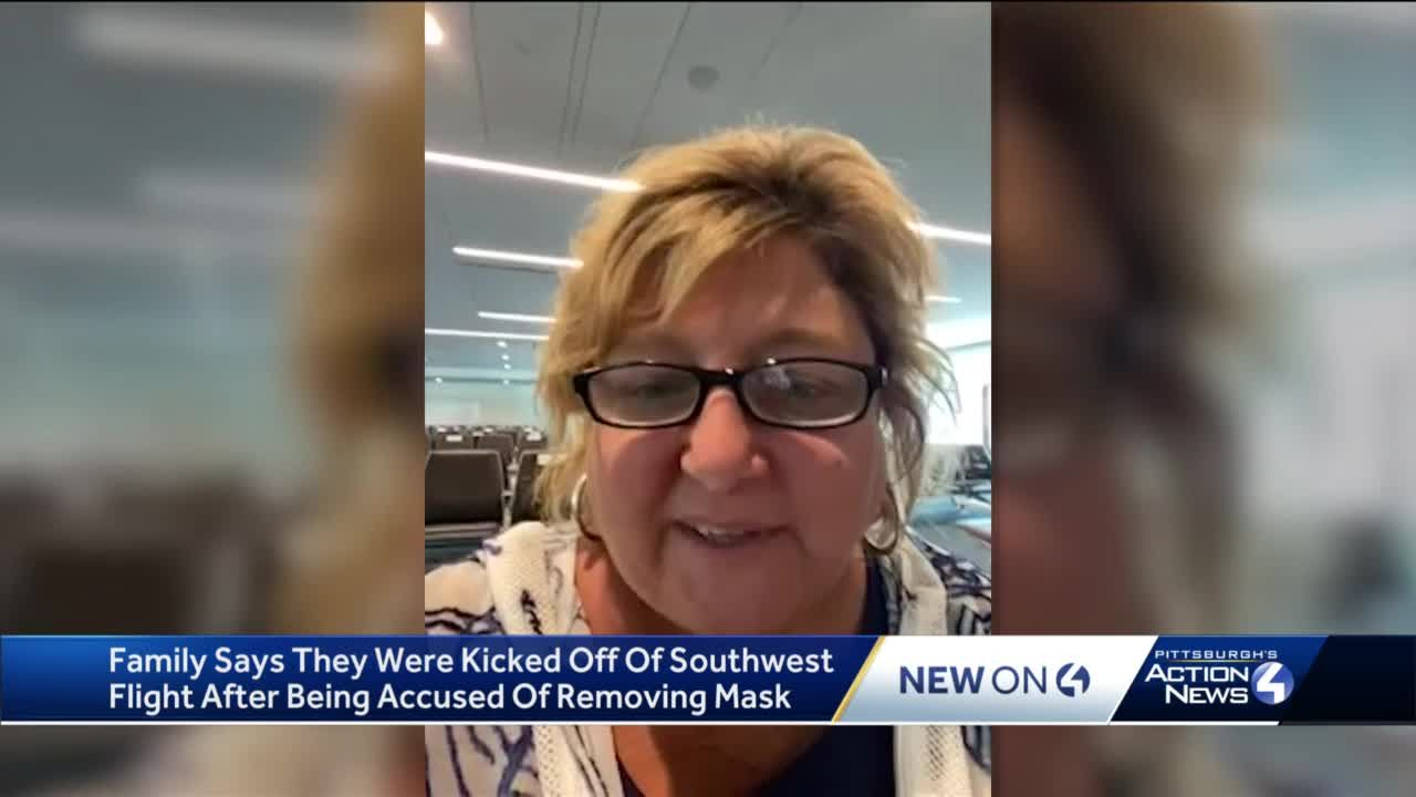 Pittsburgh woman escorted off plane for not complying with mask mandate, calls accusation a lie