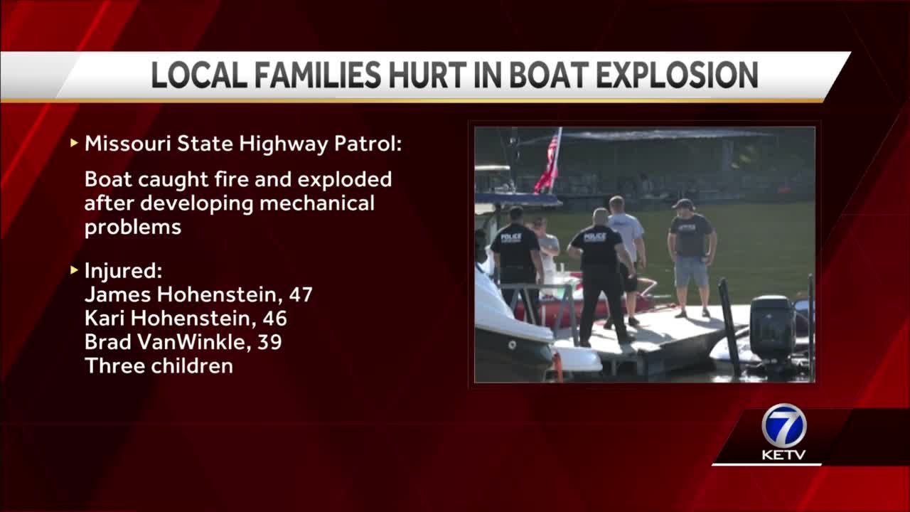 Gretna,Elkhorn Area Families hurt in boat explosion at Lake of the Ozarks