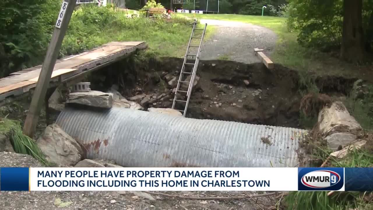 Many people have property damage from flooding