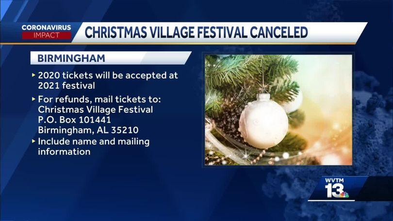 Christmas Village 2021 Birmingham Al Christmas Village Festival In Birmingham Canceled Amid Coronavirus Concerns