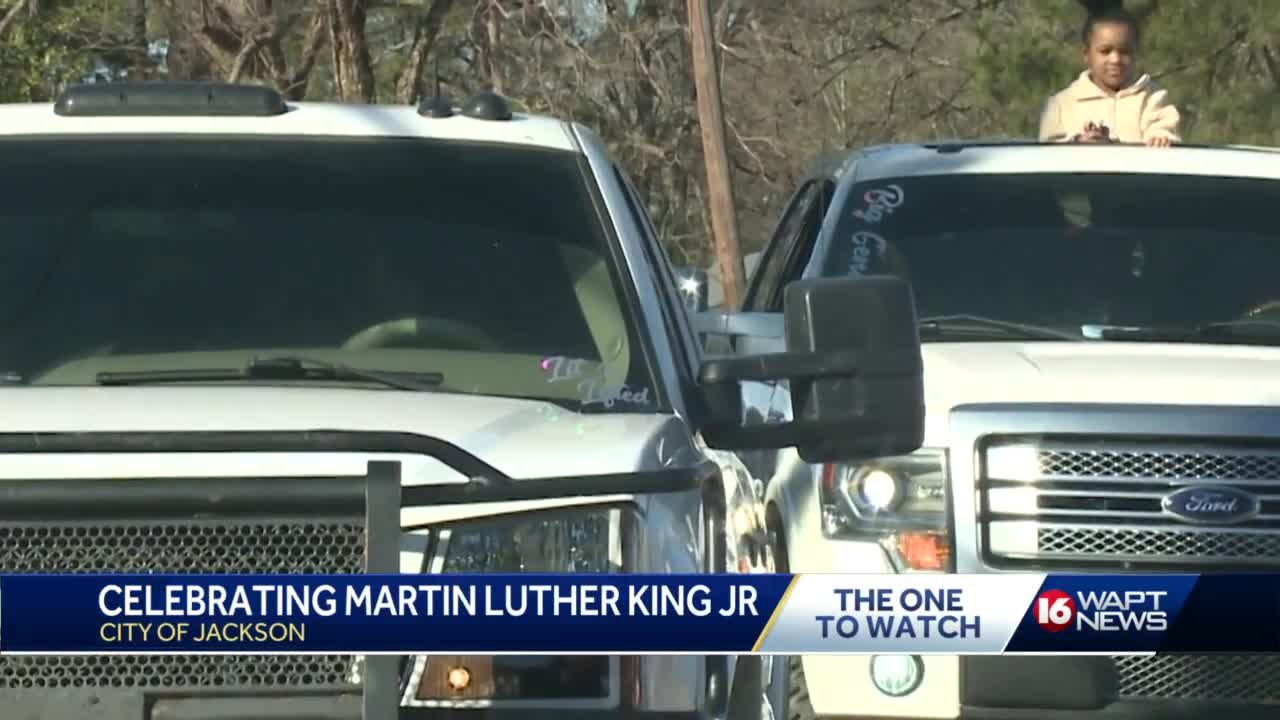City of Jackson celebrates Martin Luther King Jr. with motorcade
