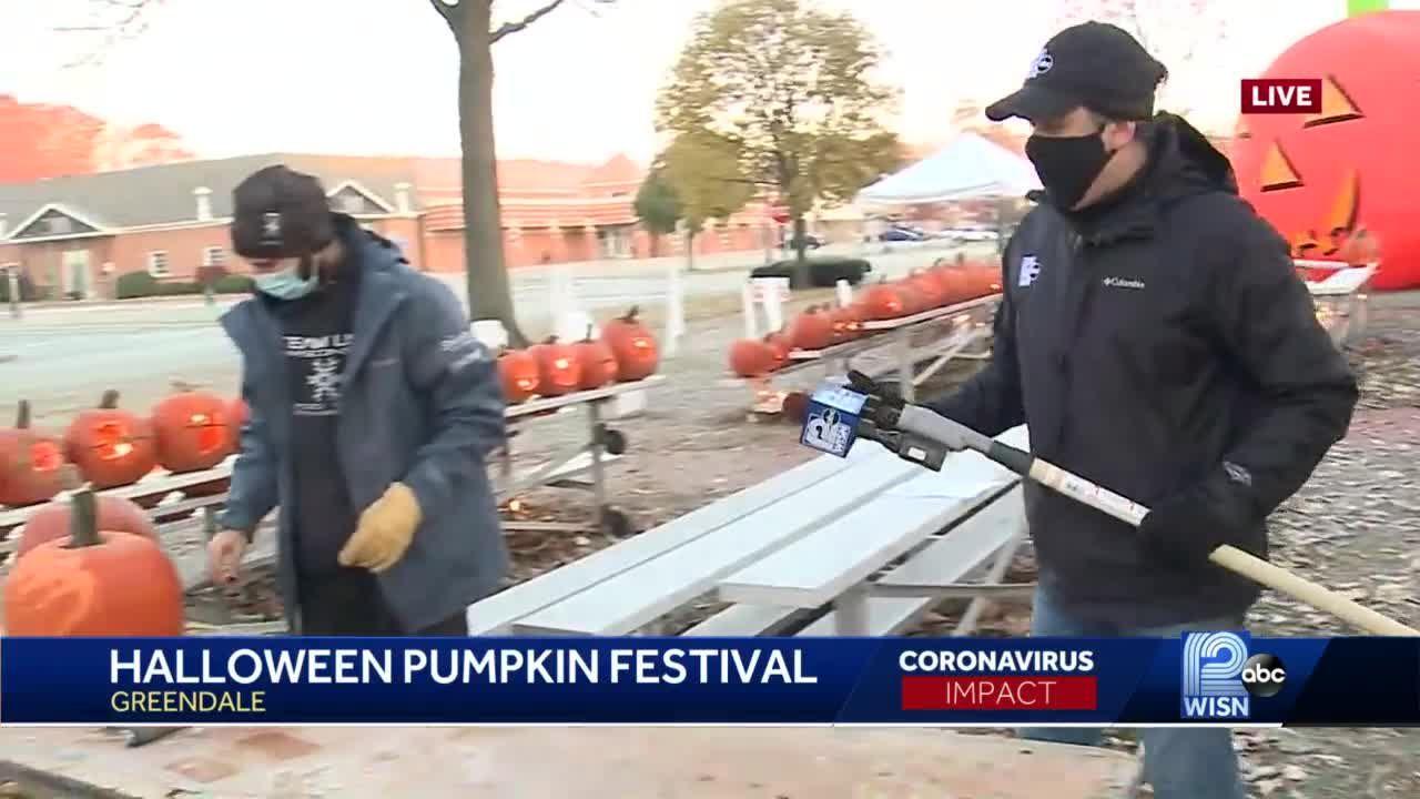 Greendale park hosts halloween pumpkin festival