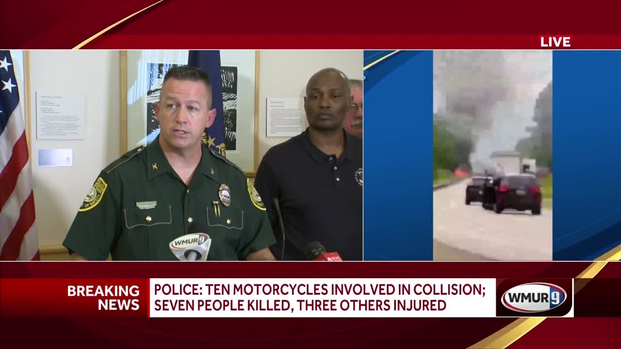 Officials Give Update On Deadly Motorcycle Crash In Randolph