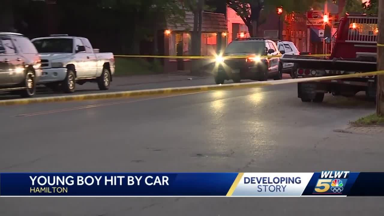 Police: Child dies after being hit by a car along busy Hamilton road