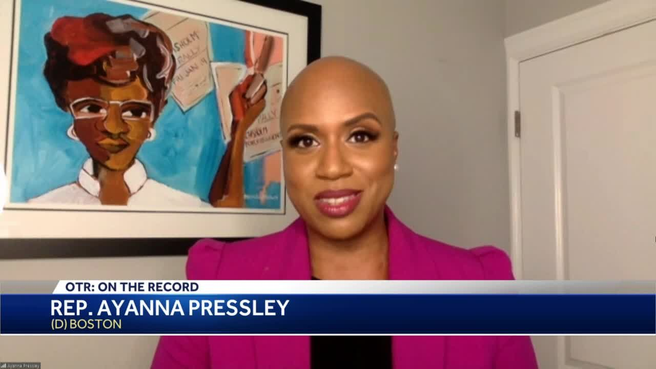 OTR: Rep. Ayanna Pressley excited to see Boston mayoral race unfold