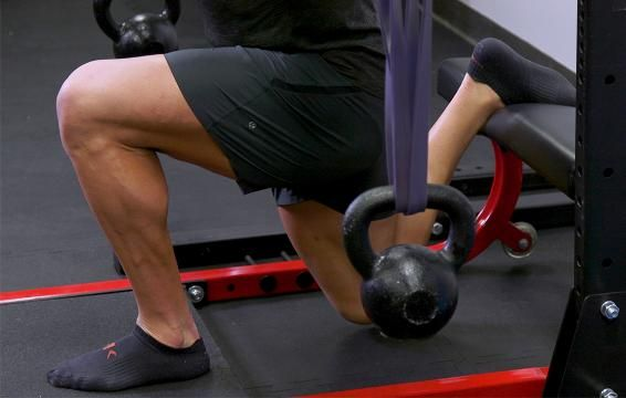 A Bulgarian Split Squat Variation That's Easier On Your Joints