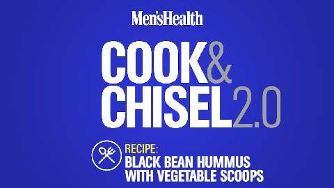 Snack: Black Bean Hummus with Vegetable Scoops