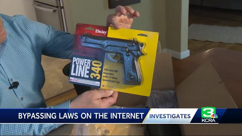 Sacramento dad questions son's ability to buy weapons from Amazon