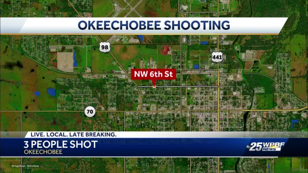 Okeechobee County deputies investigating forced entry, shooting