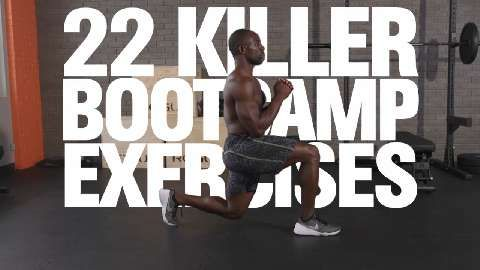 22 Kickass Bootcamp Exercises That Will Destroy Your Spare Tire
