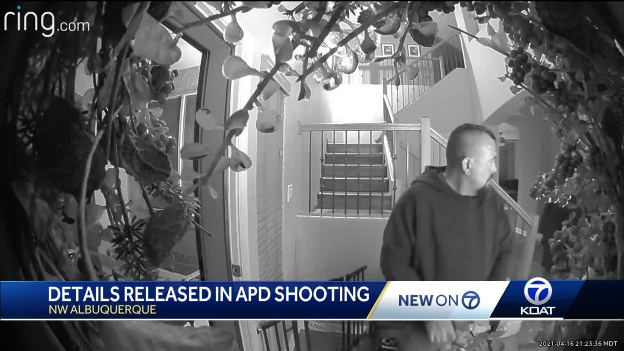 APD shows ring cam, body cam video of shooting