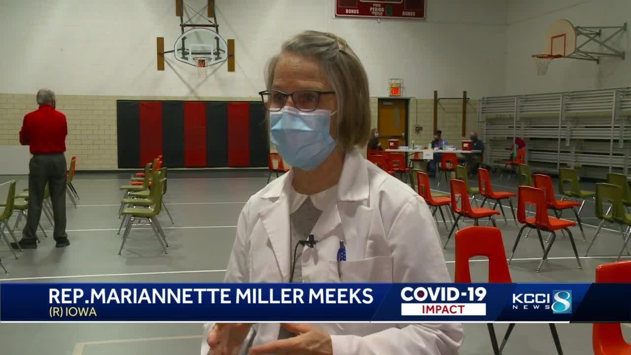 Rep. Miller-Meeks sounds off on vaccine passports