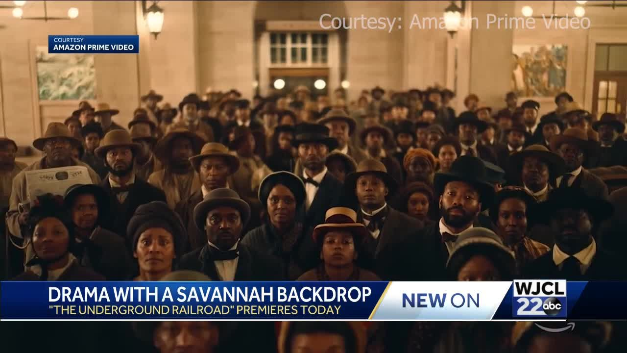 Underground Railroad premieres on Amazon