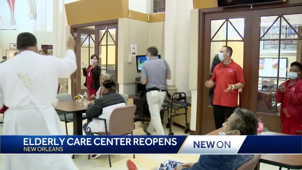 PACE Senior Center reopens for first time since COVID-19 pandemic