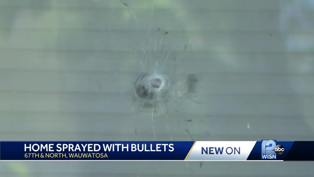 Tosa home shot more than 20 times