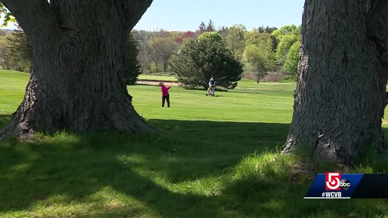 Massachusetts man creates 'Fling Golf'