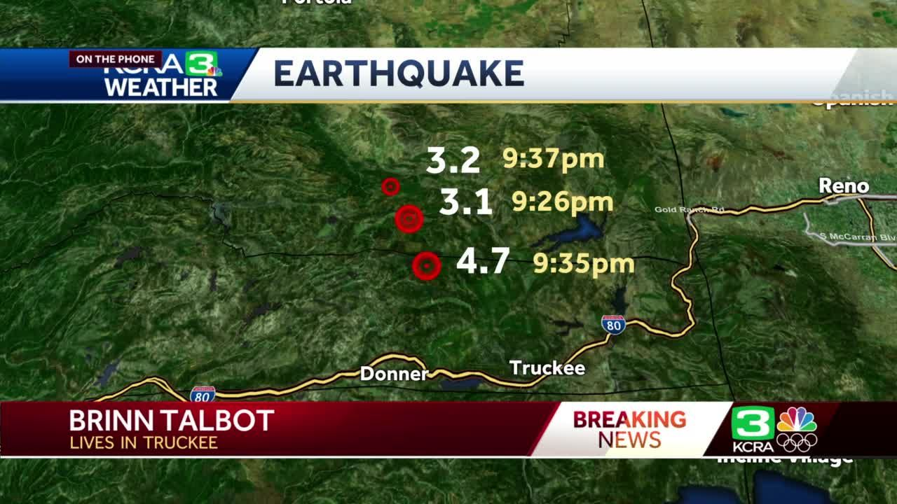 ShakeAlert issued before quakes in the Sierra