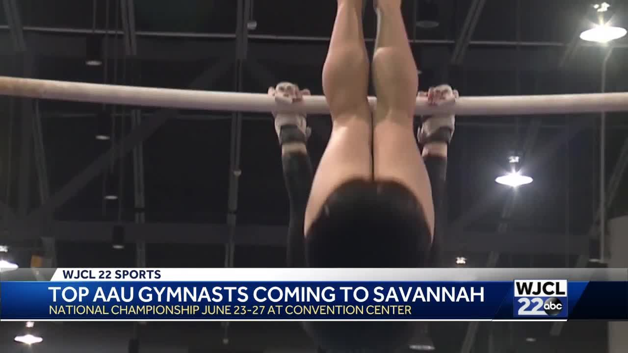 Top AAU Gymnasts Coming to Savannah