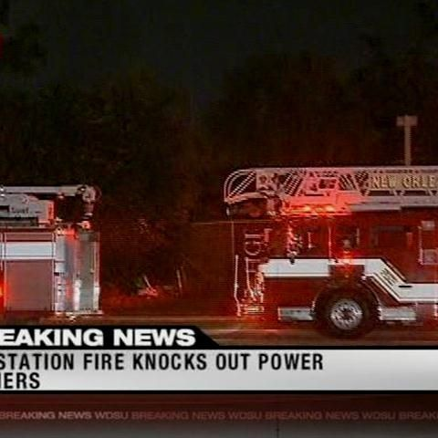 Entergy Substation Fire Causes Westbank Power Outage
